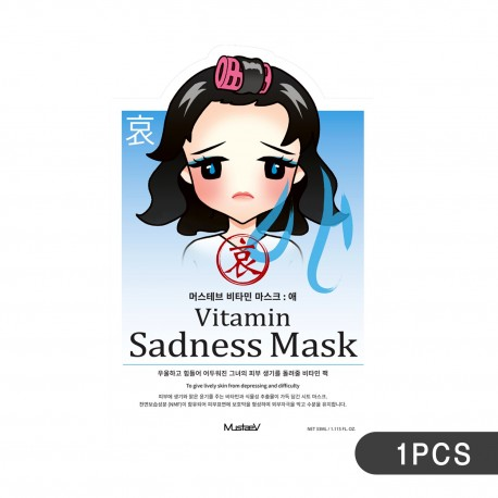 MustaeV Mood Therapy Mask - Sadness