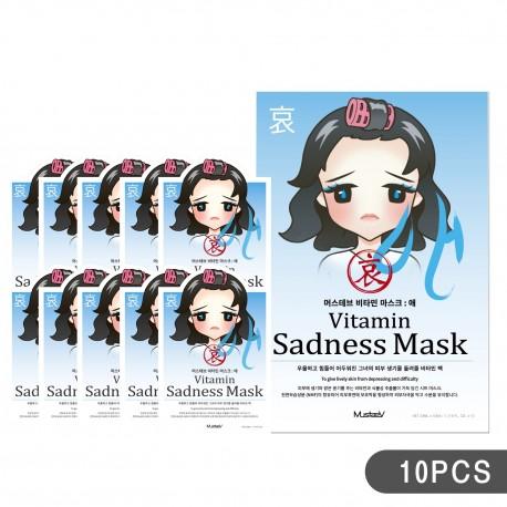 MustaeV Mood Therapy Mask - Sadness (10PCS)